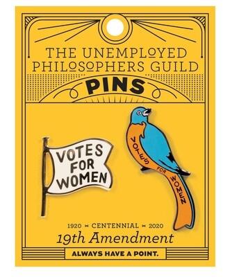 19th Amendment Pin Set