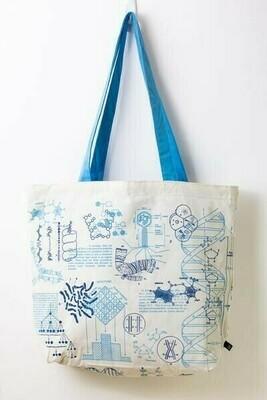 DNA & Genetics Tote Bag