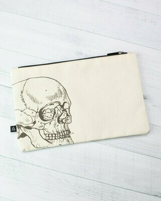 Skeleton Zip  Case