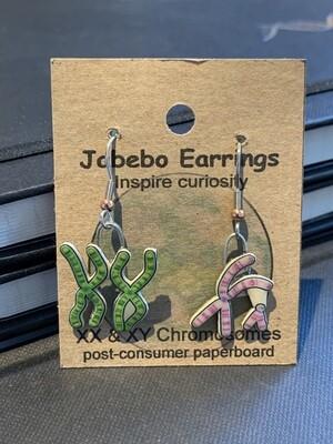 Chromosome Earrings