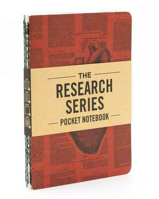 Anatomy Pocket Notebook 4-pack