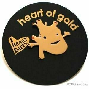 Heart of Gold Lapel Pin