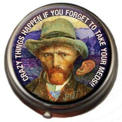 Vincent van Gogh Pill Box