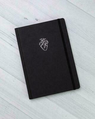 Heart A5 Notebook