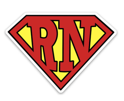 Super RN Sticker