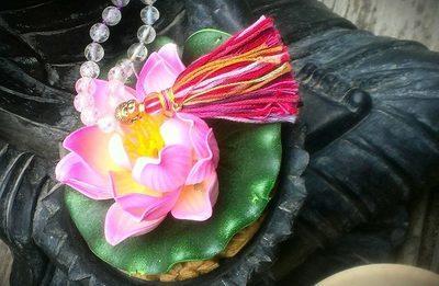 Personalized Jyotish Vedic Mala Prayer Bead Necklace