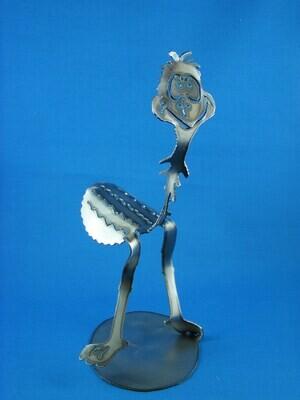 Emu dad Metal art