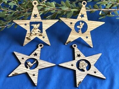 MDF Christmas Stars