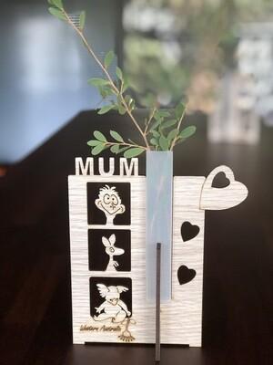 Mum test Tube Vase