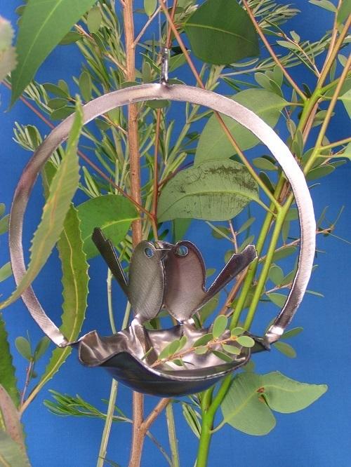 Baby Wrens Birdfeeder