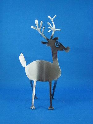 Side Facing Reindeer