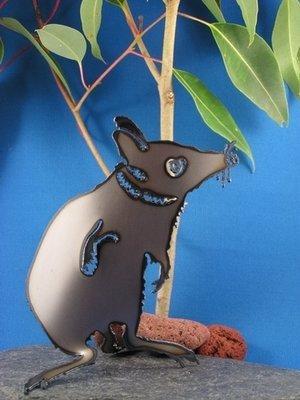 Bandicoot Australian animal Metal art