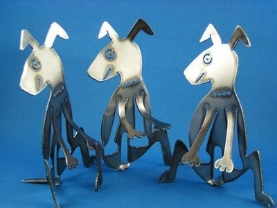 Dog Metal art