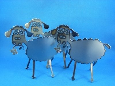 Sheep Metal art