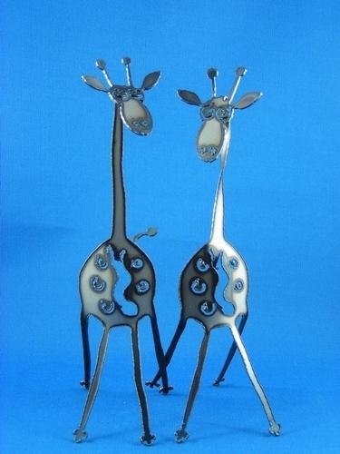 Giraffe Metal art