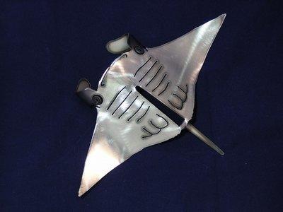 Manta ray Metal art