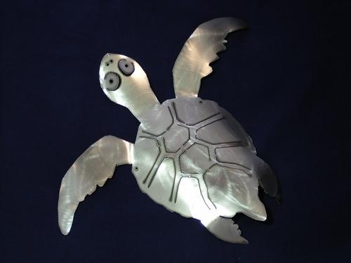 Sea Turtle Metal art