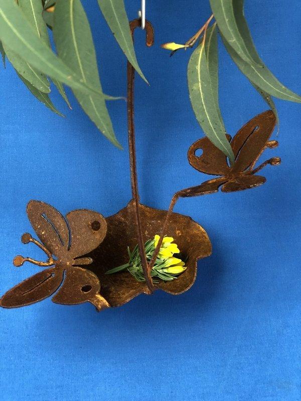 2 x Butterfly + Birdfeeder