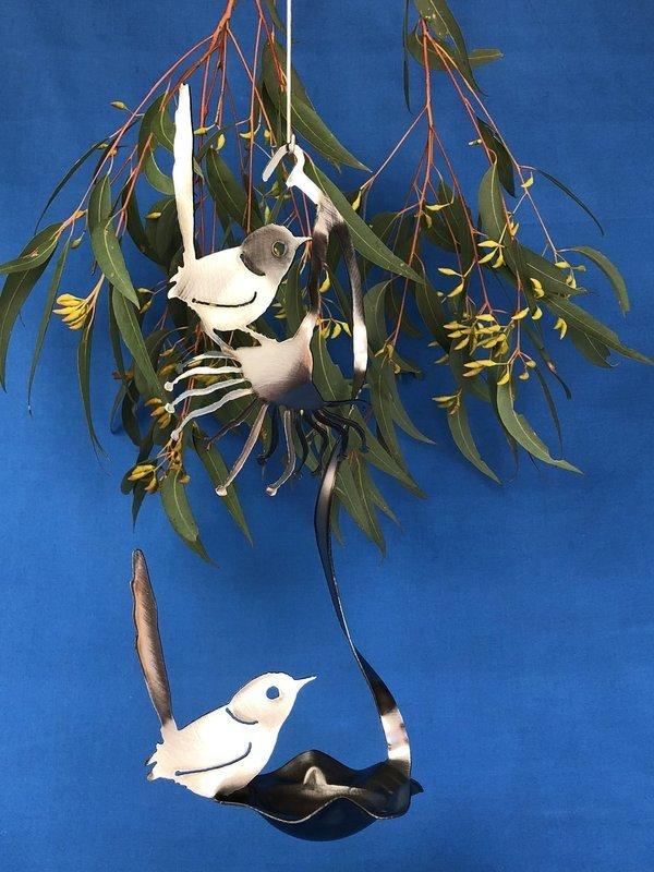 2 x Wren + Gumflower Birdfeeder