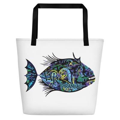Beach Bag-Piranha