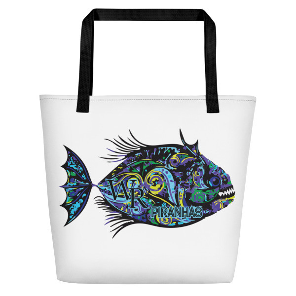 Beach Bag-Piranha