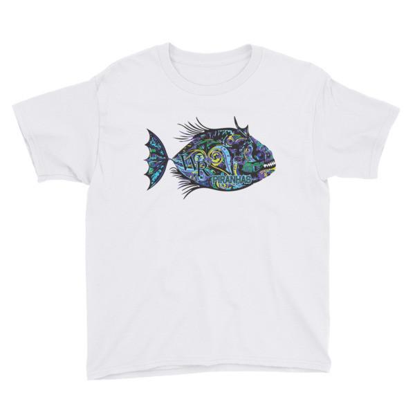 Youth Short Sleeve T-Shirt-Piranha