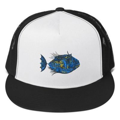 Trucker Cap-Piranha