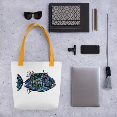 Tote bag-Piranha