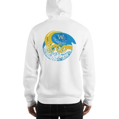 Cozy Hooded Sweatshirt-Wave