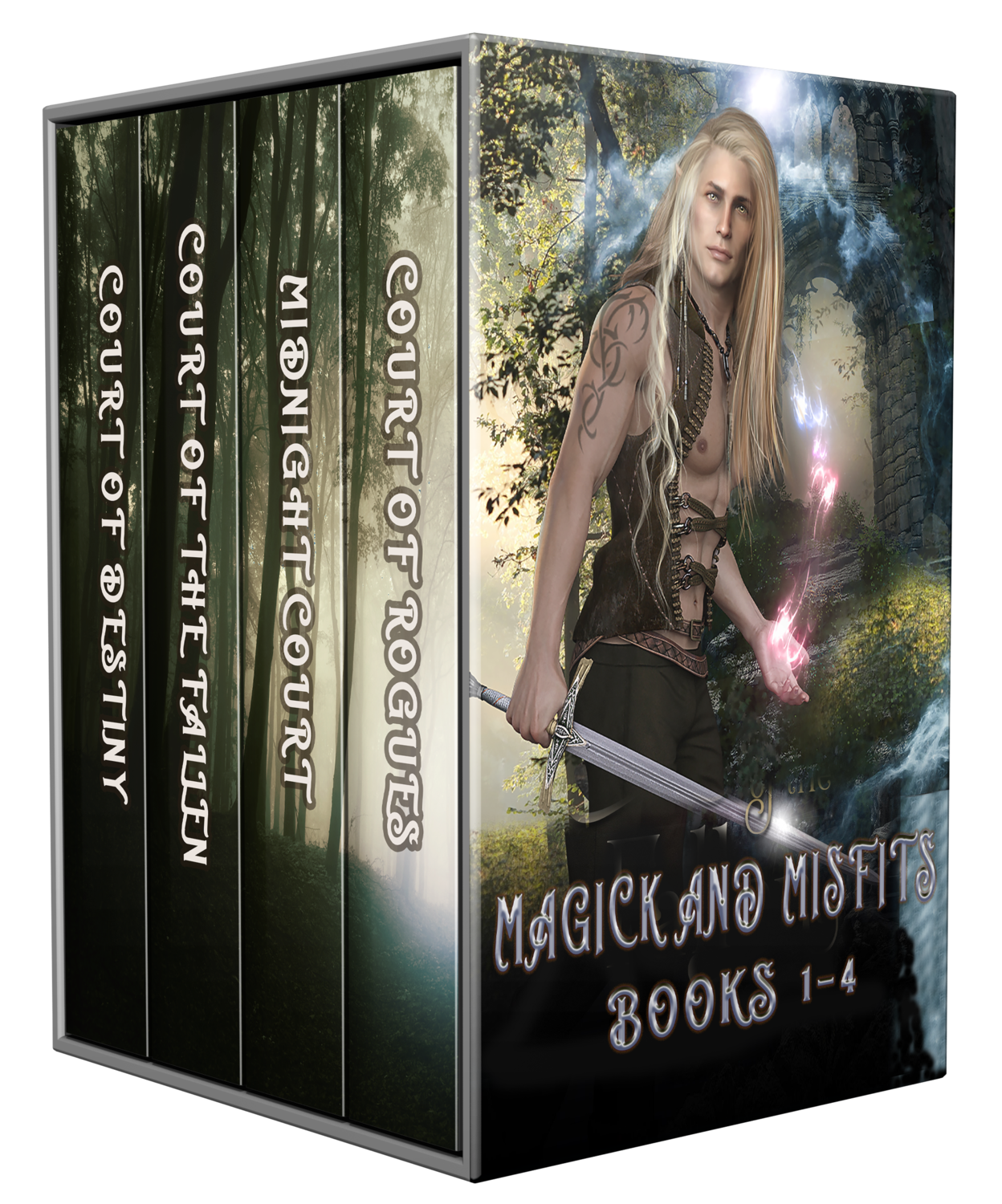 Magick and Misfits, Books 1-4