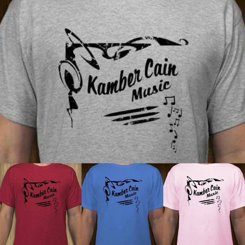 Kamber Cain Music T-Shirts