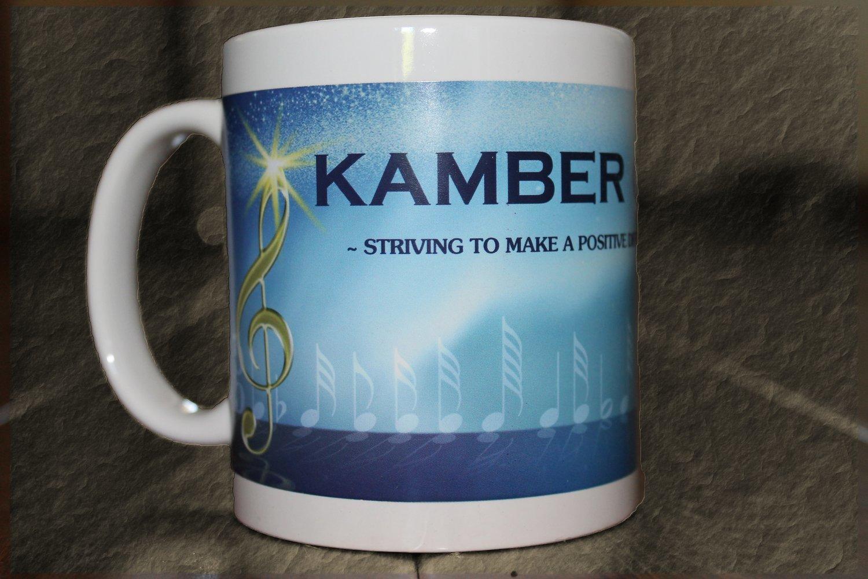 Kamber Cain Music Mug