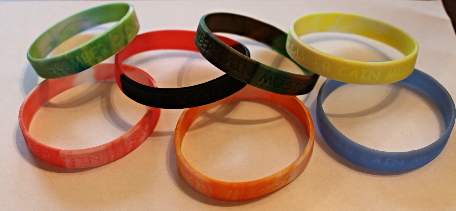 Kamber Cain Music Wristbands