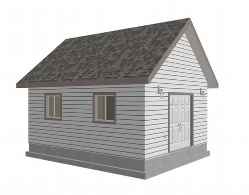G391a 16x20x8 Bunkhouse - Shed - Workshop