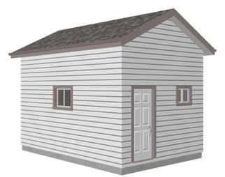 Garage 12 X 18 Shed Plans