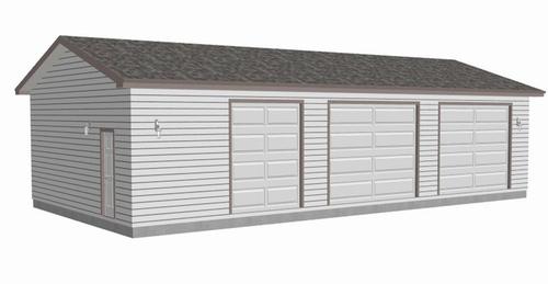 #g464 30x60x10 workshop Garage Plan