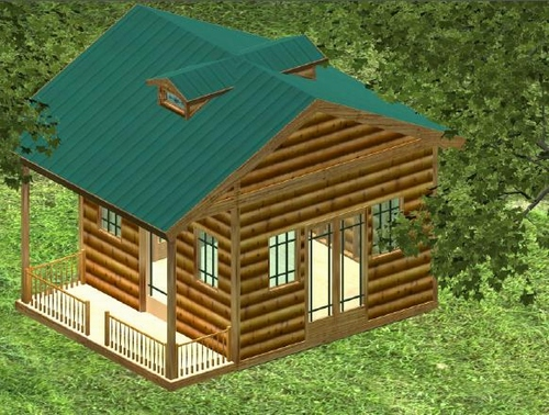 Complete Country Cottage Plan