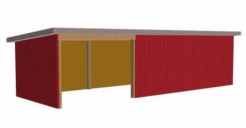 #G398, Wick 8002-55, 12 x 36 pole barn