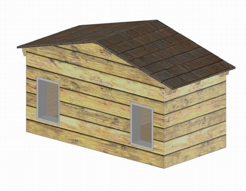 Large Duplex DOG House Construction Guide