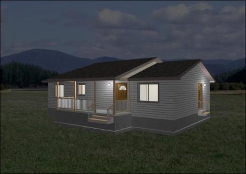 Ranch House Plan #472