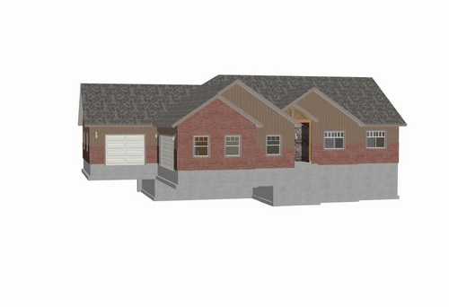 SDSH201 Fullmer House Plans 1728 SQ FT