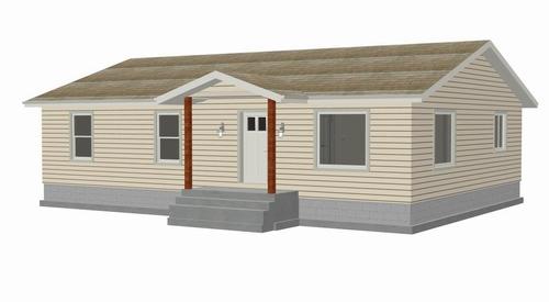 Download Plan 191SDS Habitat for Humanity house 1400 sq ft