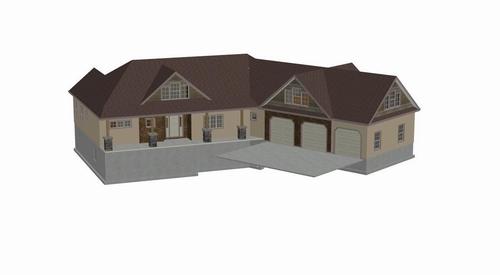 Plan#H177 Country Mountain Executive Home Free Reviews