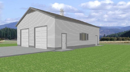 Easy to Follow 36 x 46 Garage Plans