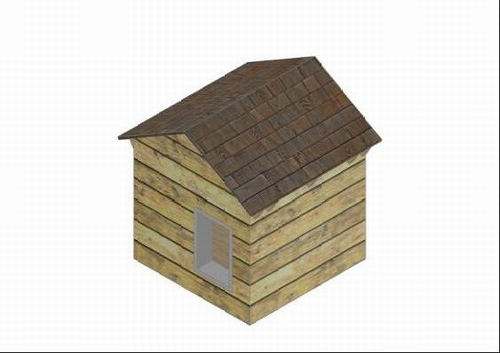 3 Dog House Plans Construction Drawings