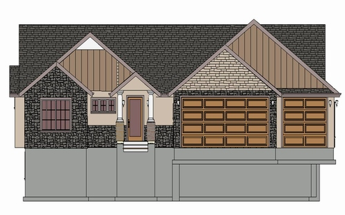 sds206 1600 sqft House Plan in PDF and DWG