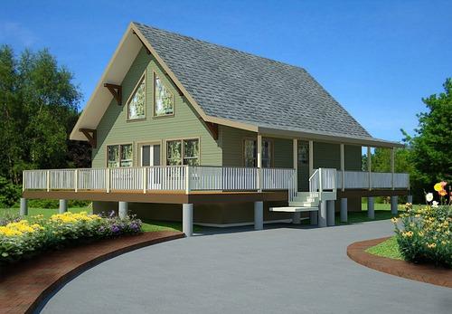Free Cabin Plans Blueprints