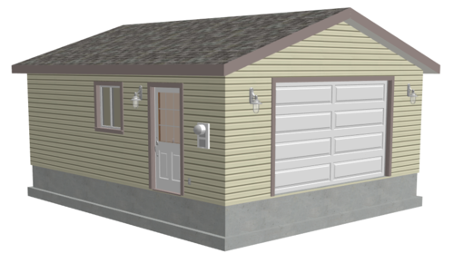 #g507 20 x 24 x 8 Garage Plans PDF files