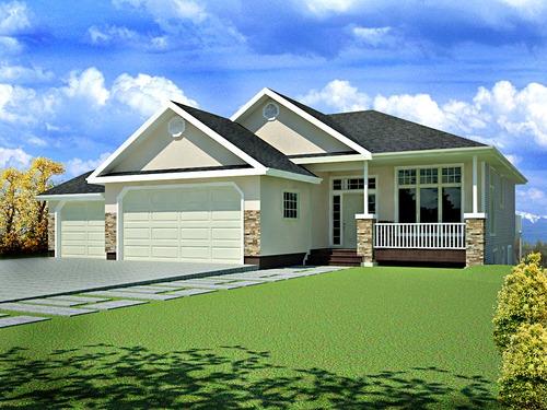 Plan#63 1541 Sq Ft custom home design DWG and PDF