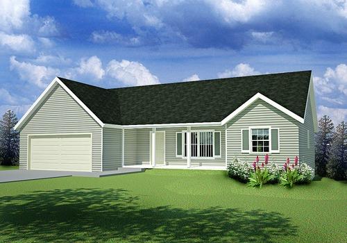 Plan #65 Custom Home Design DWG and PDF